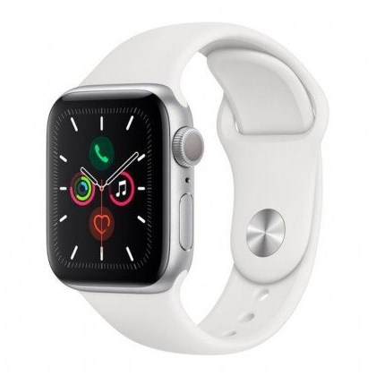 Apple Watch Series 5 (GPS) 40mm Nhôm – Trắng – MWV62